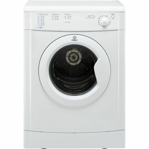 Indesit IDV75 Eco Time B Rated 7Kg Vented Tumble Dryer White