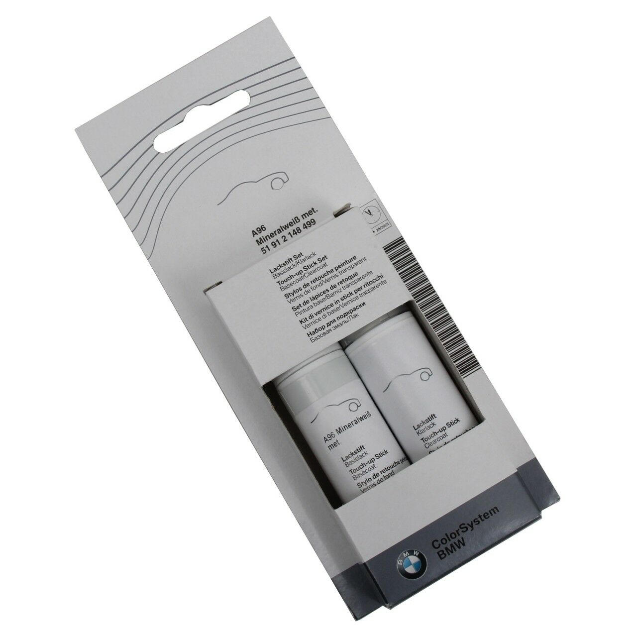 Genuine Bmw Color System Touch Up Paint Stick Mineral