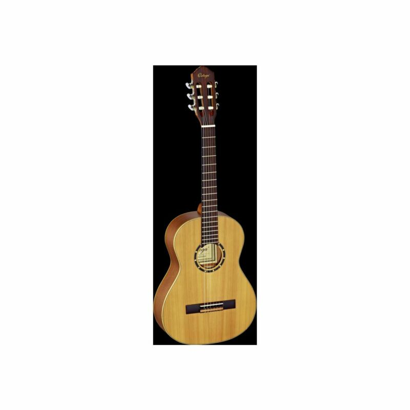 ORTEGA R122-3/4 Concert Guitar Nature Cedar Incl. Bag