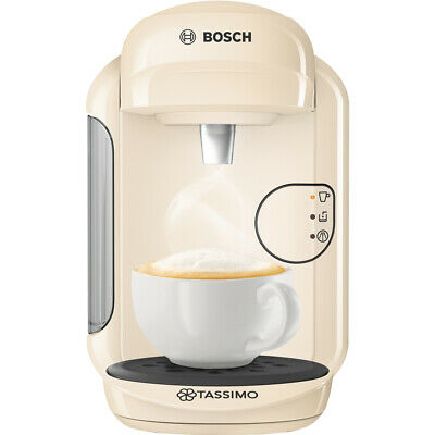 Bosch Tassimo Vivy 2 TAS1407GB 0.7 Litre, 1300 Watt Coffee Pod Machine Cream