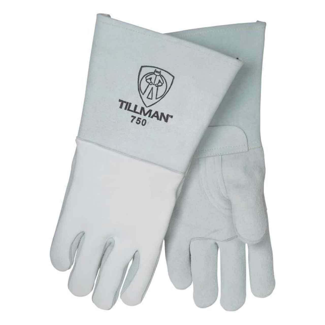 Tillman 750 Premium Top Grain Elkskin Welding Gloves Sizes Small-2XLarge Business & Industrial