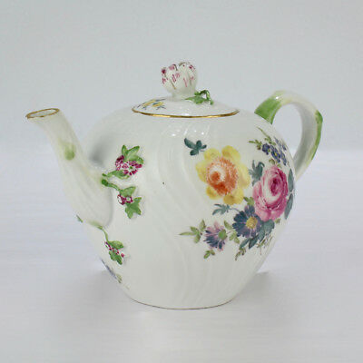 Antique Diminutive 18th Century Meissen Porcelain Teapot - Teekanne PC