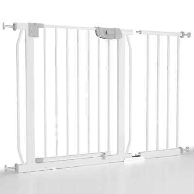 Türschutzgitter 87-116 cm Treppenschutzgitter Schutzgitter Baby Absperrgitter