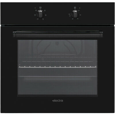 Electra BIS72B Built In 60cm A Electric Single Oven Black New