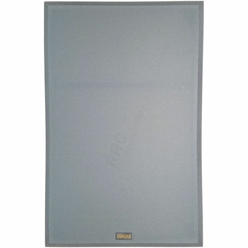 "OEM Yamaha Slate Light Gray Cloth Floor Speaker Grille for NS-A835 (22.5""x14.5"")"
