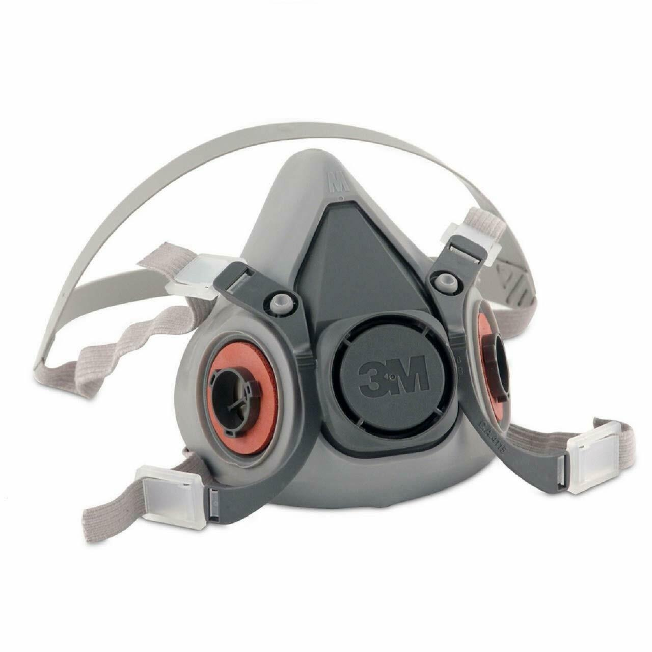3M 6200 Half Facepiece Reusable Respirator, Respiratory Protection Size MEDIUM Business & Industrial