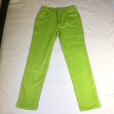 Vintage Green (Neon / Lime) Versace Jeans 29 inch waist