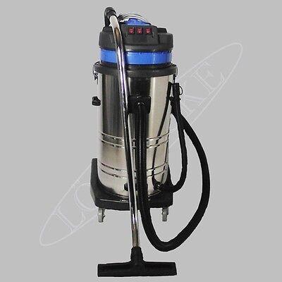 120 Liter/sec. Modell-Nr. 4000W-NT Staubsauger Nass/Naß Trocken Edelstahltank