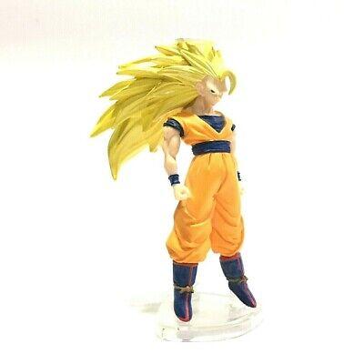 Japan Bandai Dragon Ball Z Super Saiyan 3 Goku HG Action Figure Toys Gashapon