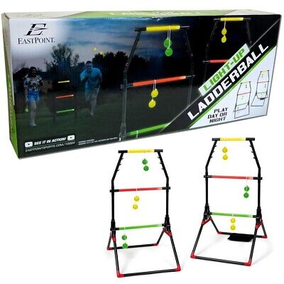 Light-Up Ladder Ball Portable Outdoor Toss Game Set Play Sports Tailgate Yard WL (Ladderball Game)