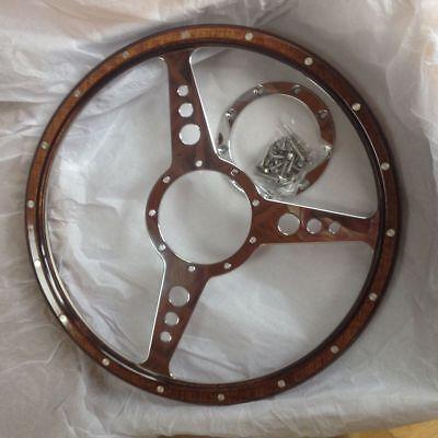 Classic Car Wooden Steering Wheel