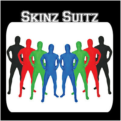 New Skinz Adult Morph Body Suit Zentai Suit