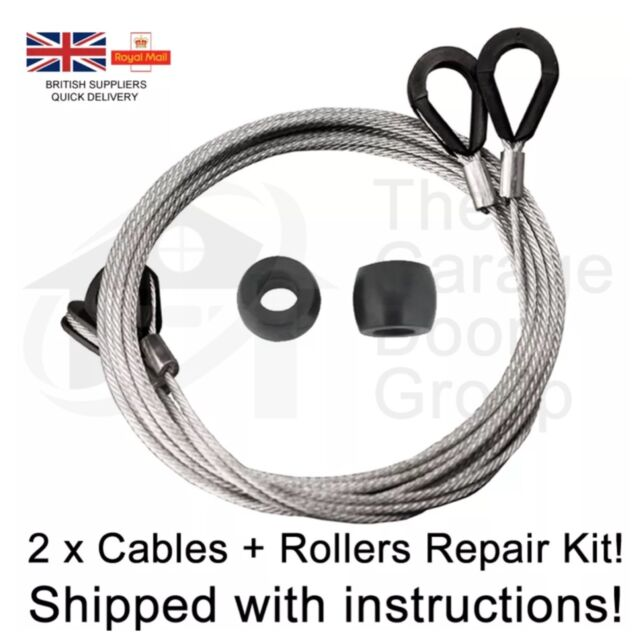 GARADOR MK3C CABLES AND ROLLER REPAIR REPLACEMENT KIT garage door spares parts