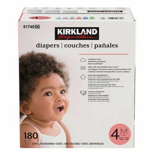 Kirkland Signature Diapers Sizes 1-6  Moms
