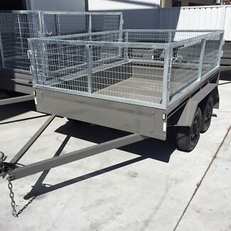 8x5 TANDEM CAGED TRAILER from JOHN PAPAS Welshpool Canning Area Preview