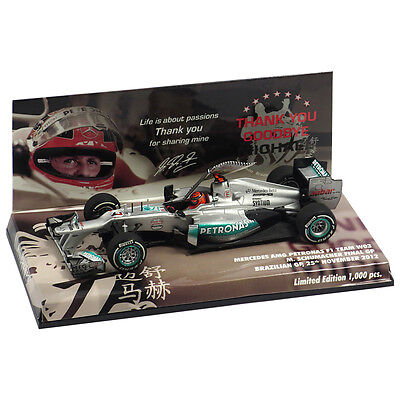 Michael Schumacher Mercedes GP W03 1:43