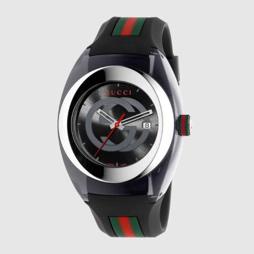 Gucci Sync XXL Watch BLACK Strap YA137101