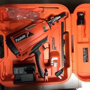 NEWPaslode 2017 IM350 Plus lithium battery First Fix FRAME Gas Nailer - Full Kit