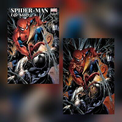 SPIDER-MAN LIFE STORY #1 TYLER KIRKHAM EXCLUSIVE VIRGIN VARIANT SET NM OR