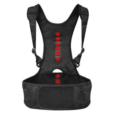 Copper Back Brace Support Pro Compression Belt Adjustable Lower Lumbar Fit S Lower Back Brace Support