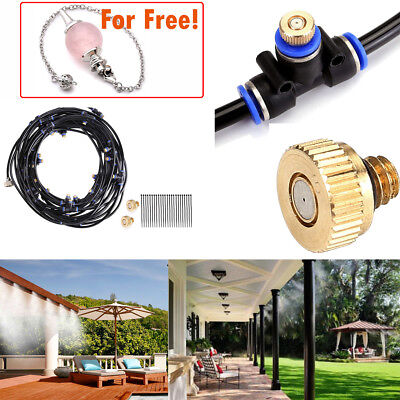 8-20M Outdoor Misting System Reptile Cooling Water Garden Patio Spray Sprinkler