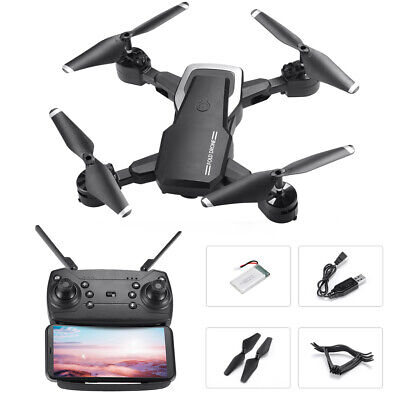 Subtle FPV WiFi Drone With HD Camera Aircraft Foldable Quadcopter Selfie Toys US