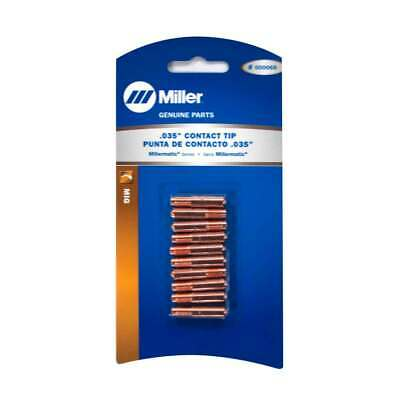 Miller 000068 Mig Welding Contact Tip .035 10 Pack