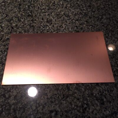 Fr4 Copper Clad Laminate Pcb Circuit Board Material 4-12x8 Single Sided