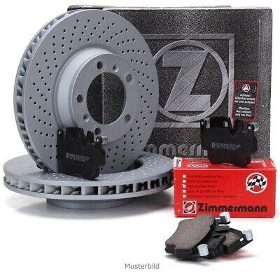 hinten Bremsbeläge Wako MERCEDES W204 W212 vorne ZIMMERMANN Bremsscheiben