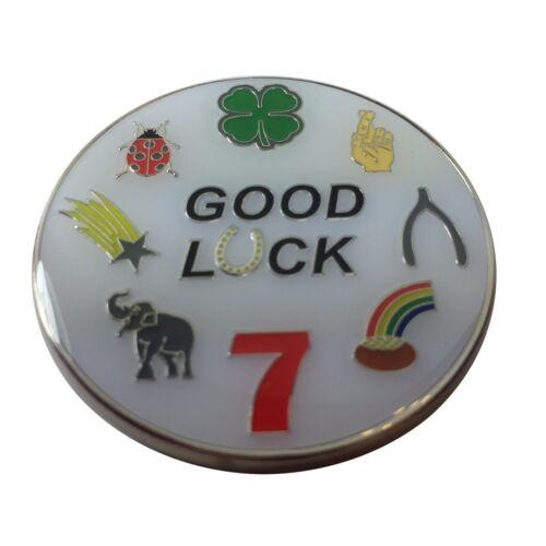 Good Luck Heavy Poker Card Guard Hand Protector Lucky Coin NEW