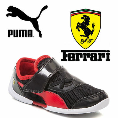 ✅ 48Hr DELIVERY✅ Puma Ferrari Future Cat Childrens Infant Trainer Shoes  £45