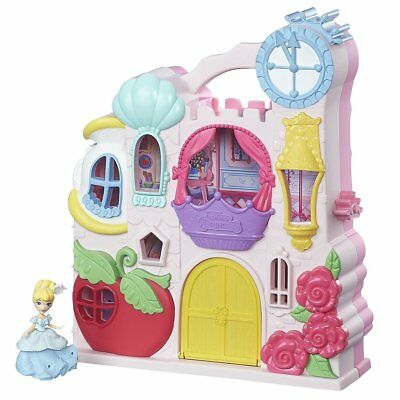 Disney Princess Little Kingdom Play 'n Carry Castle (Princess Play Sets)