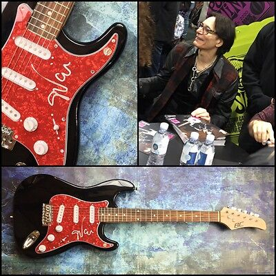 GFA Best Hard Rock Guitarist * STEVE VAI * Signed Electric Guitar PROOF AD1 COA