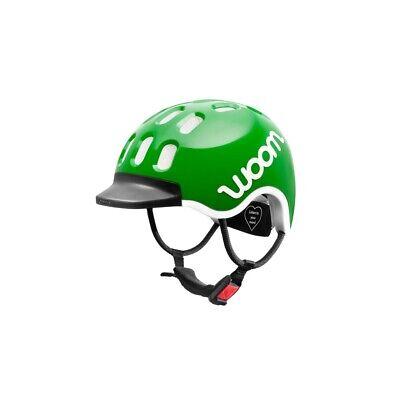 Woom KIDS Helm grün Größe XS 46 – 50 cm Kinder Fahrrad Kopf Schutz Sicherheit
