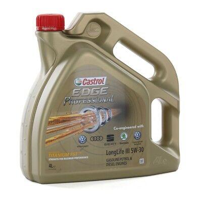 CASTROL EDGE Professional Motoröl Öl TITANIUM FST LongLife III 5W-30 - 4 Liter ()