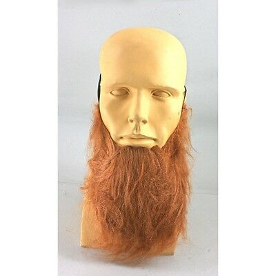 Beard Costume Red Viking Leprechaun Fake Chin Beard Fat - Red Beard Costume