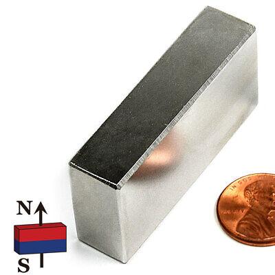 3 Pc Super Strong N42 Neodymium Magnet Block 2 X 12 X 1 - Rare Earth Magnets