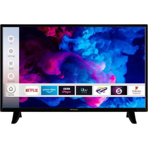 Techwood 32AO9HD 32 Inch TV Smart 720p HD Ready LED Freeview HD 3 HDMI