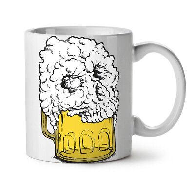 Death Beer NEW White Tea Coffee Mug 11 oz | Wellcoda (Beer 11 Oz White Mug)