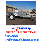 7×5 single axle trailers with best price Bayswater Knox Area Preview