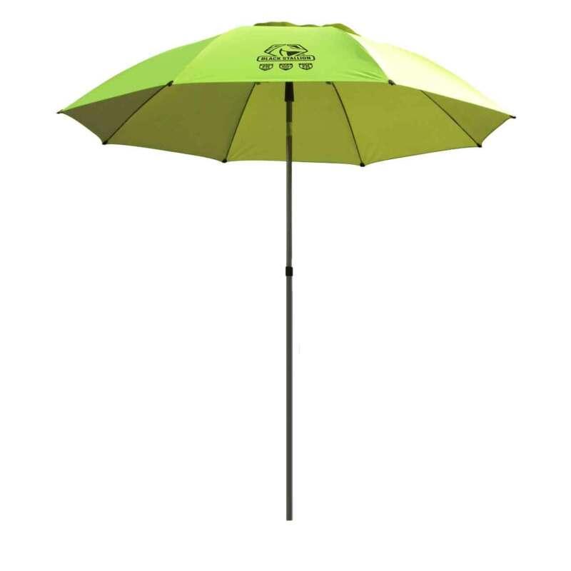 Black Stallion UB200 Core Flame-Resistant Industrial Umbrella HiVis Yellow/Lime