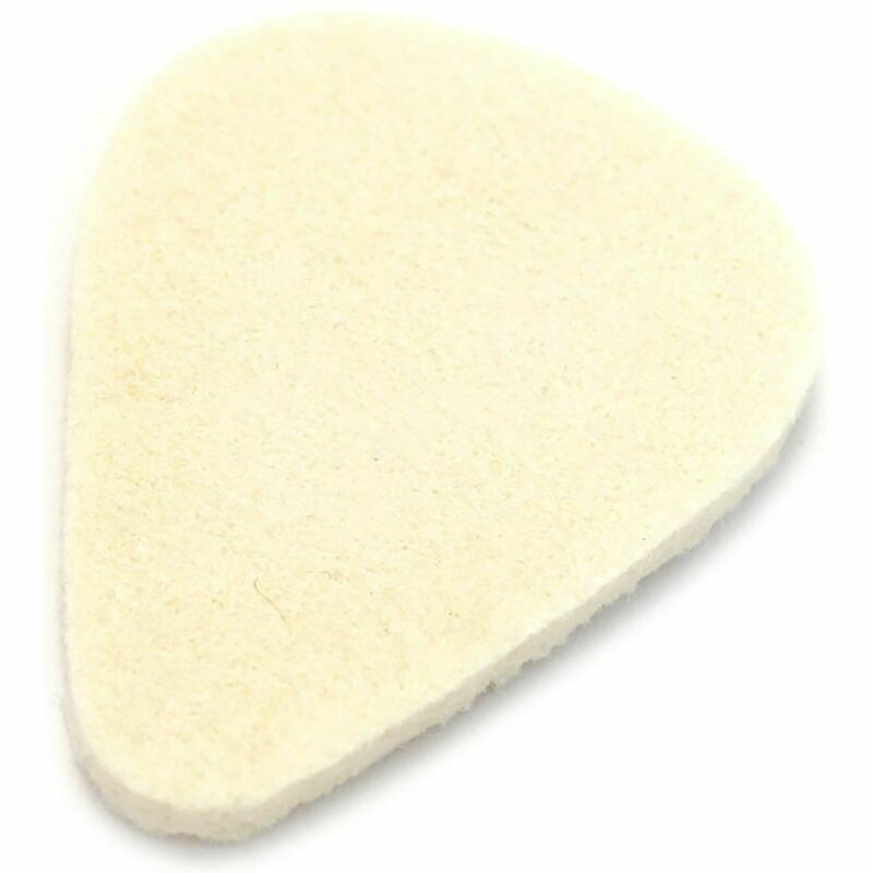 Dunlop 8011 Nick Lucas Felt Picks for Ukulele, Bass, Guitar