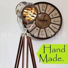 THE AVALON - Hand Made Chrome Nautical Search Light Designer Lamp Granville Parramatta Area Preview