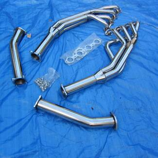 HOLDEN COMMODORE SS VT VX VU VY VZ V8 LS1 STAINLESS EXTRACTORS