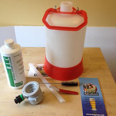 5 Liter Draft Beer Line Cleaning System Us Sankey Kegerator Cleaner D Coupler