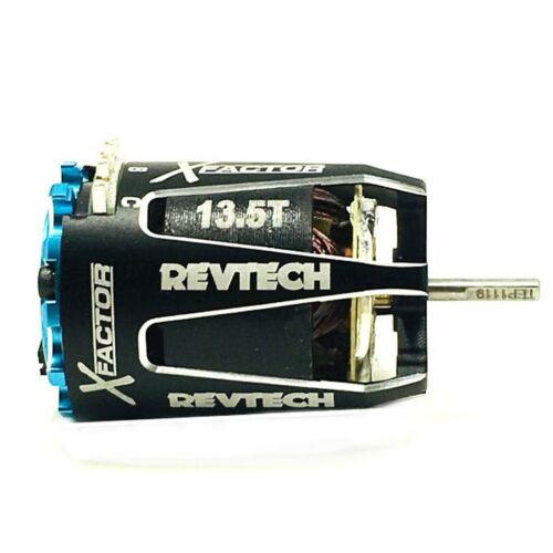 Trinity 13.5T X-Factor Revtech Roar Approved RC Race Motor 1:10 REV1101 NEW