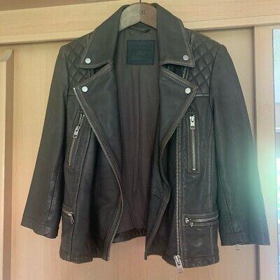All Saints Leather Jacket 8