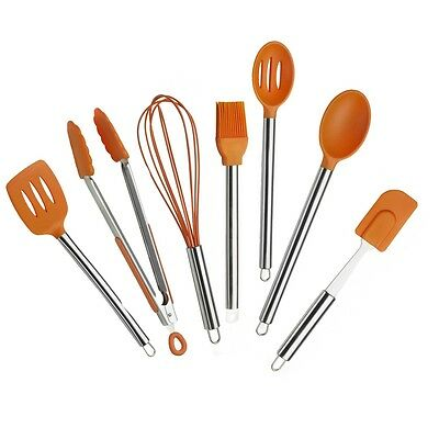 Pinti Profesional Conjunto de accesorios de cocina EFICIENTE NARANJA, 7 piezas
