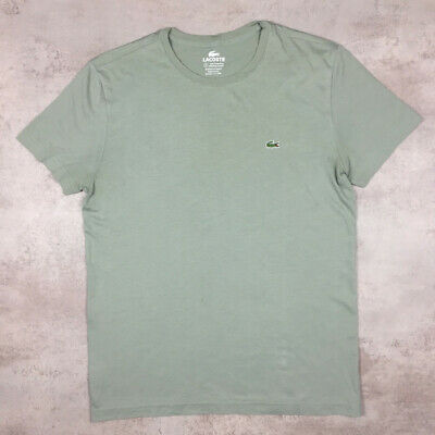 Vintage Lacoste T-Shirt - Green - Medium