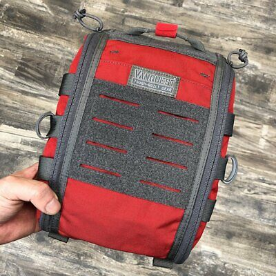 Vanquest FATPack 7x10 Red (Gen-2): First Aid Tactical Gear Pack